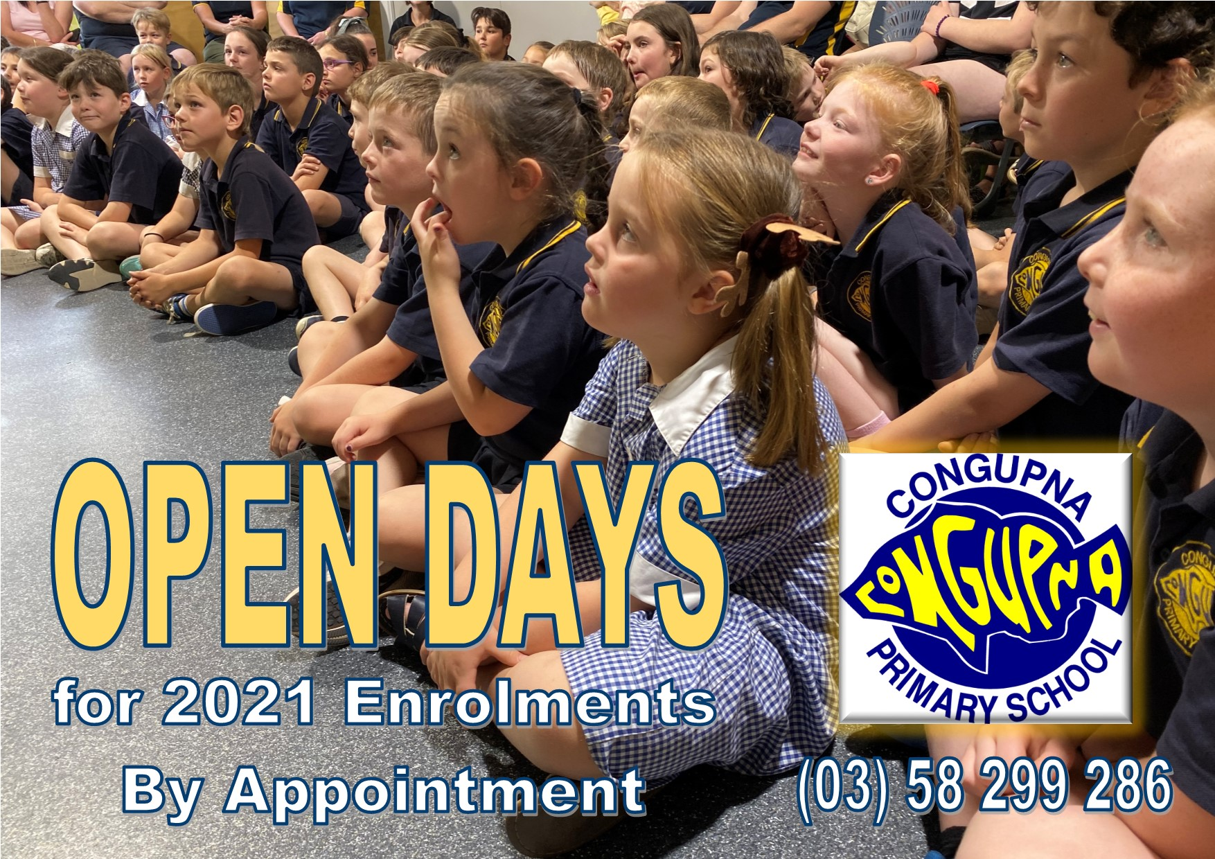 2020 Open Days for 2021 Enrolments Flyer